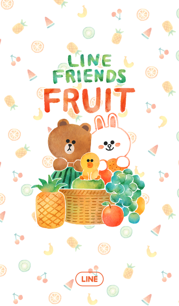 LINE フルーツの画像(表紙)