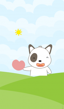 Cute dog theme v.7 (JP) 画像(1)