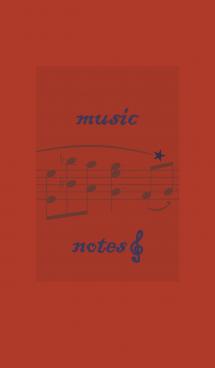 音符 + レッド 画像(1)