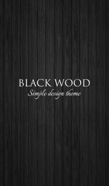 BLACK WOOD THEME 画像(1)