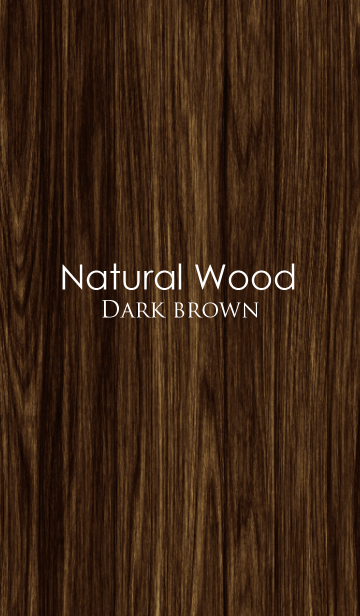 Natural Wood Designの画像(表紙)