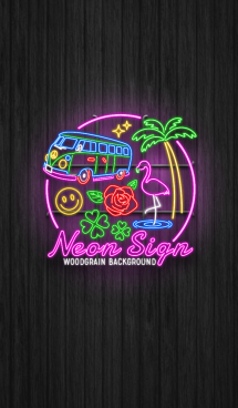Neon Sign Theme 画像(1)