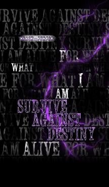 生きる意味(Black And Purple) 画像(1)