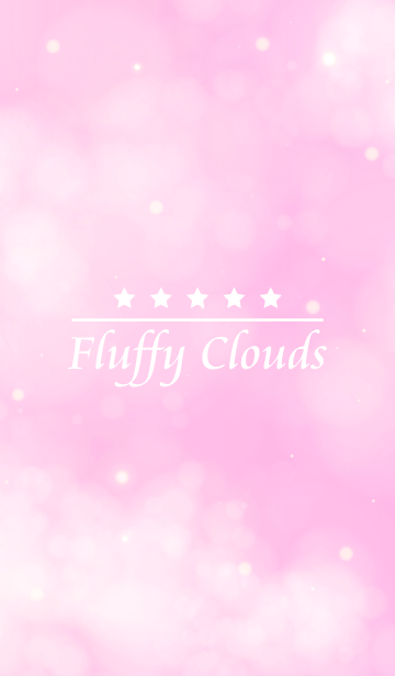 Fluffy Clouds -LIGHT PINK-の画像(表紙)