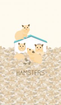 ハムスターのおうち - キンクマ - 画像(1)