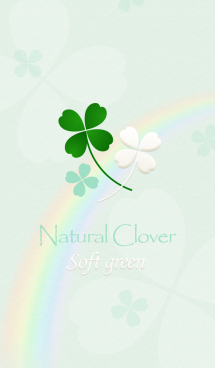 "Natural Clover ""Soft green"" 画像(1)"