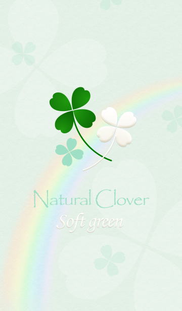 "Natural Clover ""Soft green""の画像(表紙)"