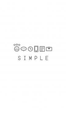 SIMPLE ICON THEME SMILE 画像(1)