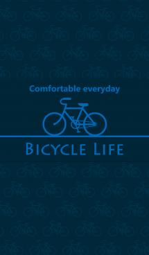 "Bicycle Life ""Dark Navy"" 画像(1)"
