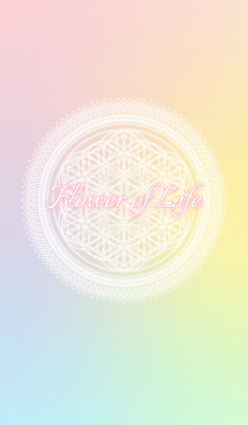 Flower of Life -pastel-の画像(表紙)