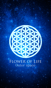 "Flower of Life ""Outer space"" 画像(1)"