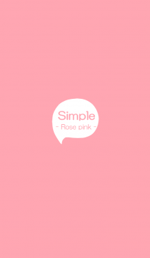 Simple - Rose Pink - 画像(1)