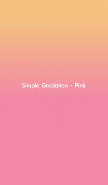 Simple Gradation - Pink 画像(1)