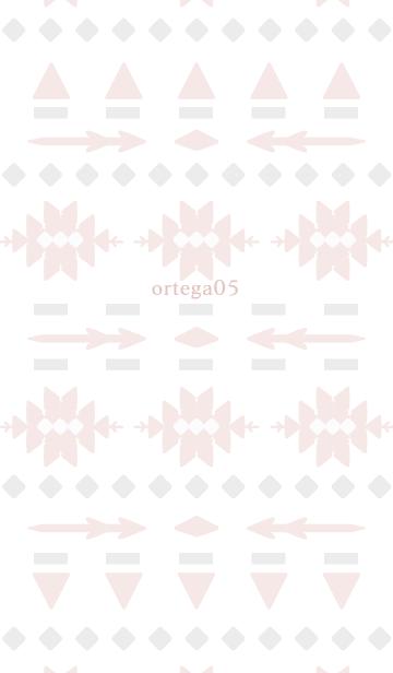 オルテガ ピンク&グレーの画像(表紙)