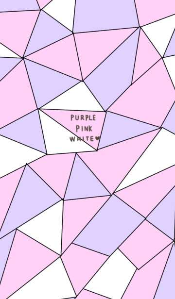 大人のピンク&パープル&ホワイト着せ替えの画像(表紙)