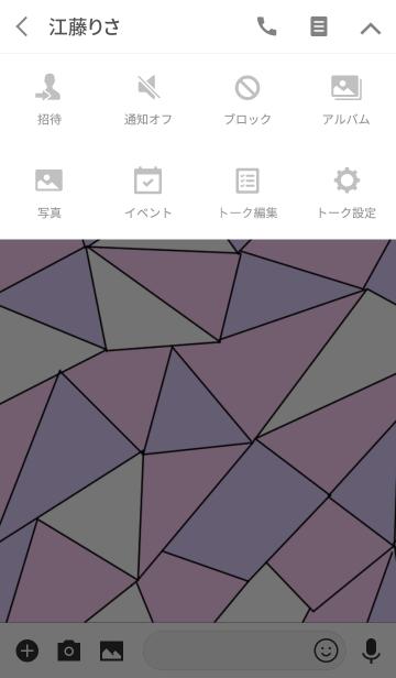 大人のピンク&パープル&ホワイト着せ替えの画像(タイムライン)