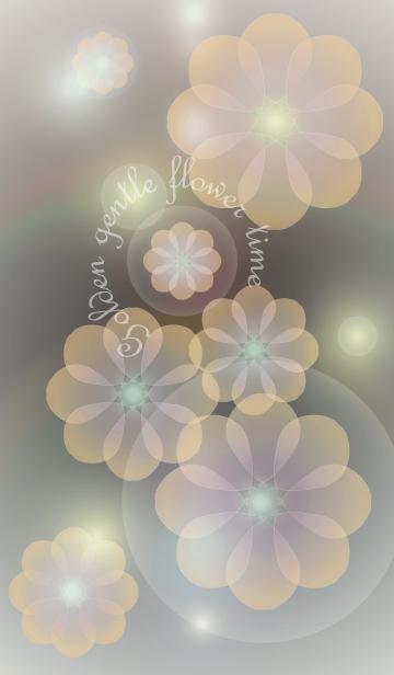 Golden gentle flower timeの画像(表紙)