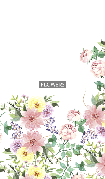 water color flowers_632の画像(表紙)