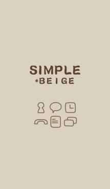 SIMPLE*beige 画像(1)