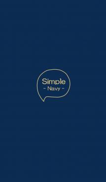 Simple - Navy - 画像(1)