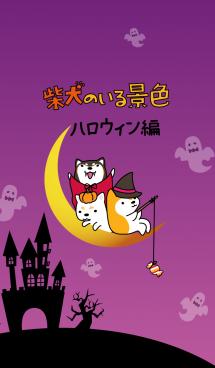 柴犬のいる景色~ハロウィン編~ 画像(1)
