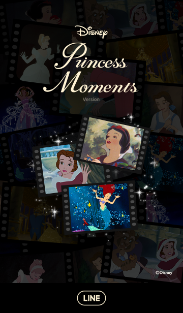ディズニー プリンセス モーメンツの画像(表紙)