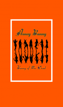 Honey Bunny -Bunny of the dead-Orange