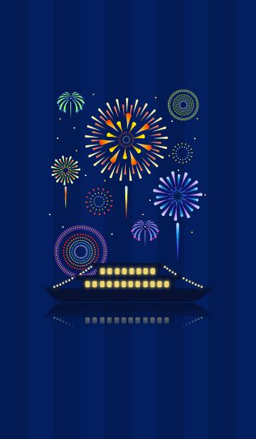 船上花火の画像(表紙)
