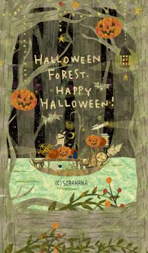 SemiDark Halloween Forest 画像(1)