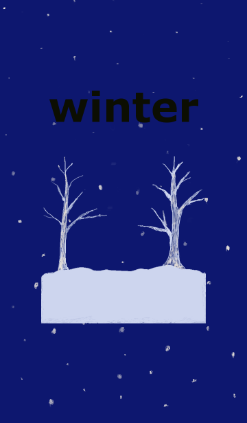 [LINE着せかえ] winter oneの画像