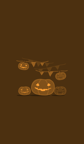 [LINE着せかえ] staring - halloween-2の画像