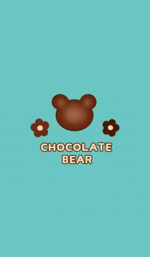 チョコレートベア ☆ブルー