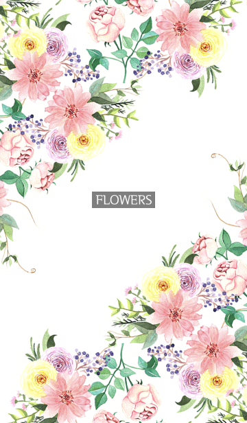 water color flowers_635の画像(表紙)