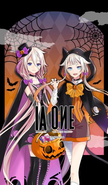 [LINE着せかえ] IA & ONE Halloweenの画像