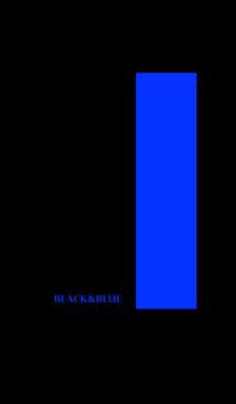 シンプル 青と黒 ロゴ無し No.4 画像(1)