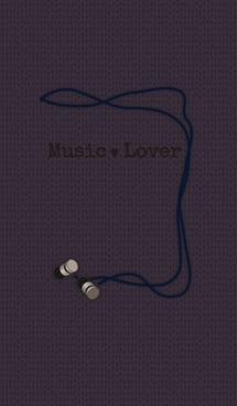 musiclover + ネイビー 画像(1)