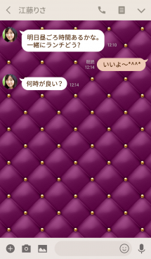 Like a - Purple & Quilted #Grape 画像(3)