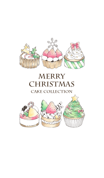 MERRY CHRISTMAS CAKE COLLECTION@冬特集の画像(表紙)