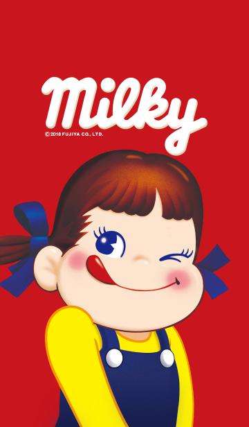 不二家ミルキー ~ウインクペコちゃん~の画像(表紙)