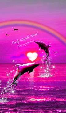 恋愛運 ♥Lucky Dolphin Pink♥ 画像(1)