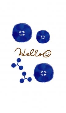 深い青色-スマイル25- 画像(1)