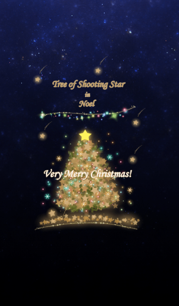 [LINE着せかえ] 流れ星の積もる木 in Noel 2 @冬特集の画像