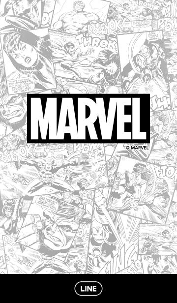 マーベル・コミックス(モノクロ)の画像(表紙)