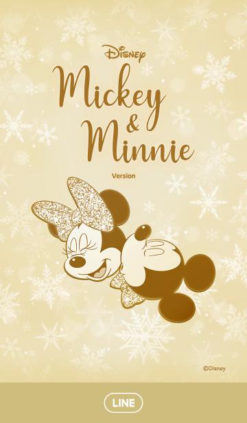 ミッキー&ミニー(シャンパンゴールド)の画像(表紙)