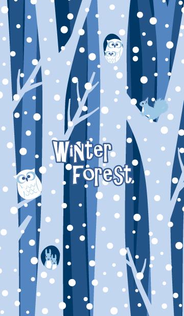 冬の森2@冬特集の画像(表紙)
