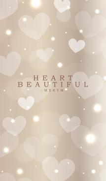 B E A U T I F U L -HEART BROWN-