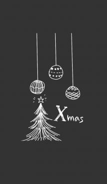 シンプルクリスマス