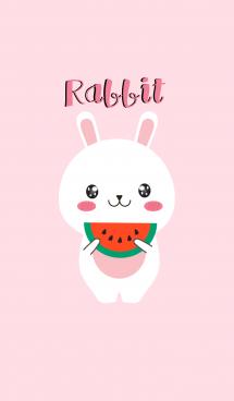 Simple Cute White Rabbit V.2 (jp)
