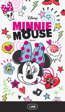 ミニーマウス(カラフルポップ) 画像(1)