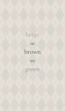 beige brown green 画像(1)